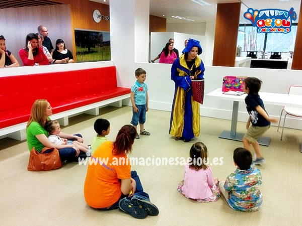 Animadores, magos y payasos en Salou