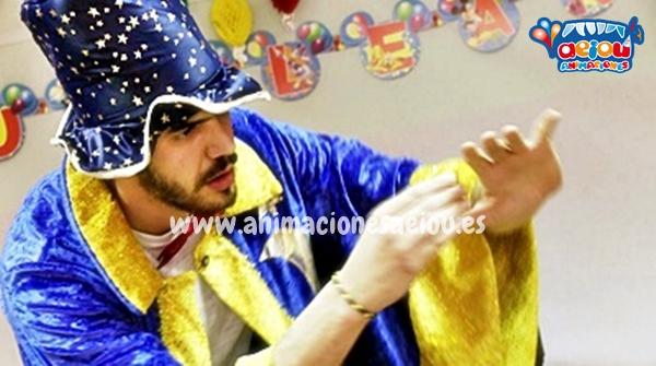 Magos en Girona para fiesta infantil