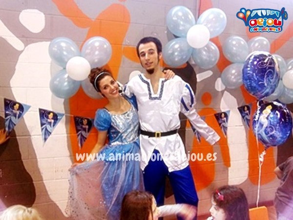 Una fiesta de princesas Disney con amigas