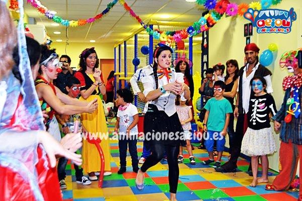 Animaciones para fiestas de cumpleaños infantiles en Girona