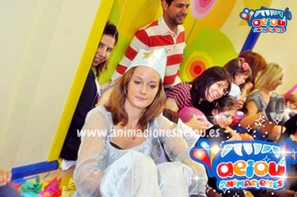 Fiestas de cumpleaños infantiles temáticas de princesas en Girona