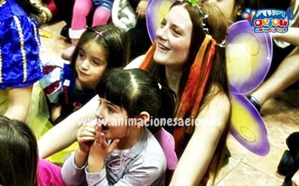 Fiestas de cumpleaños infantiles temáticas de princesas en Lleida