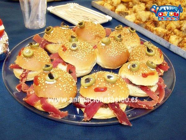 Catering para fiestas infantiles en girona men para - Comida de cumpleanos en casa ...