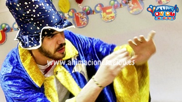 Nuestros magos para cumpleaños infantiles en Barcelona