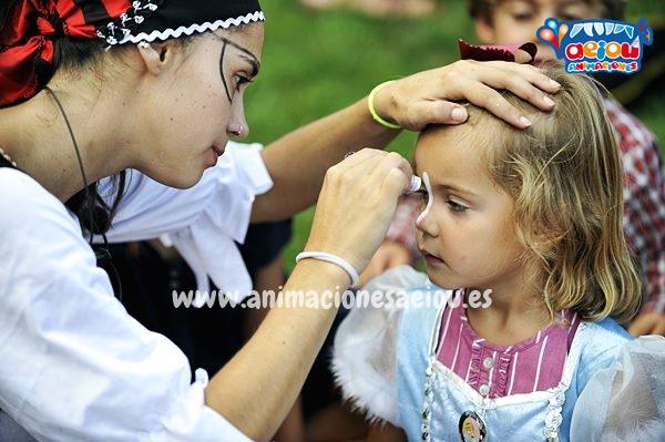 Curso de maquillaje y taller de pintacaras infantil