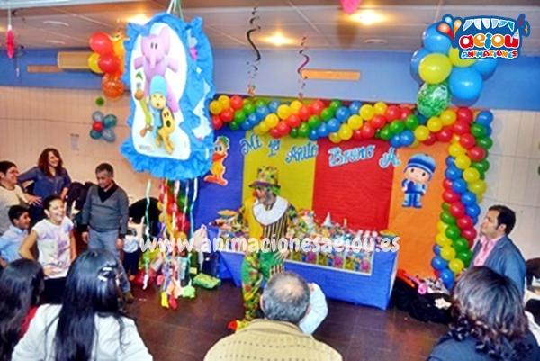 Los payasos para fiestas infantiles