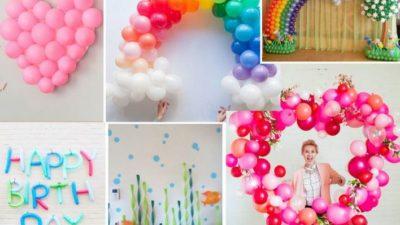 Globos, la mejor opción para decoración de fiestas infantiles