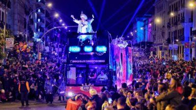 Cabalgata de reyes magos Barcelona 2019