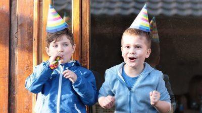 Espectáculos con burbujas para fiestas infantiles en Barcelona
